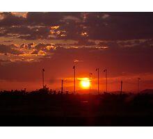 Stadium Sunrise Photographic Print