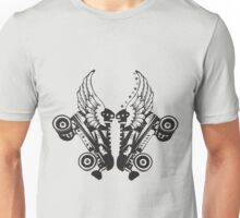 Roller Derby Skates With Wings Unisex T-Shirt