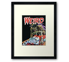 Spider Lady - Eerie Publications - Textless Cover Framed Print