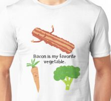 Bacon is My Favorite Vegetable Unisex T-Shirt