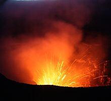 Volcano Vanuatu Mt Yasur Erupting 2 by frenzix