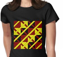 Polydirectional Womens Fitted T-Shirt