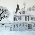 Winter Home-  by Ron Griggs