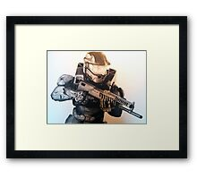 Master Chief- Halo Framed Print