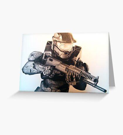 Master Chief- Halo Greeting Card