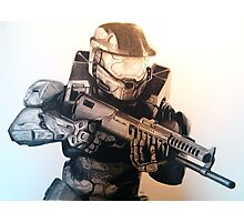 Master Chief- Halo Photographic Print