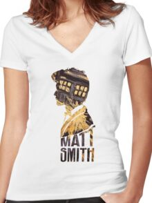Doctah Women's Fitted V-Neck T-Shirt