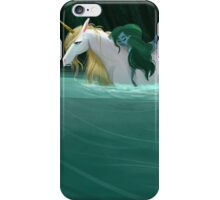 The Mermaid and the Unicorn iPhone Case/Skin