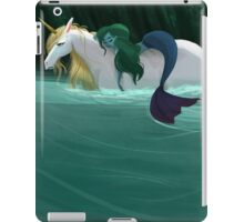 The Mermaid and the Unicorn iPad Case/Skin