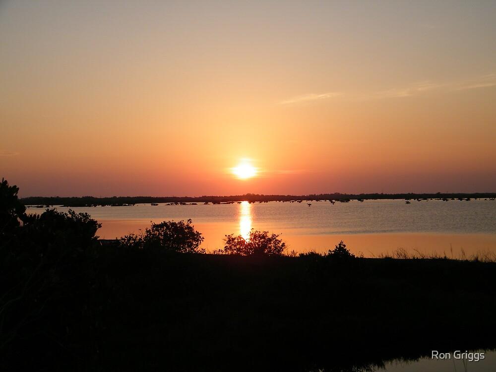Cape Sunrise- Cape Canaveral, FL by Ron Griggs