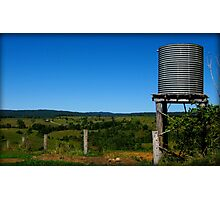 Water on the Hills - Mungalli Dairy, Nth Qld Photographic Print