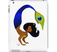 Tropical Peacock Mermaid iPad Case/Skin