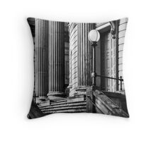 The Library. Do we ever learn? Throw Pillow