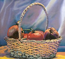 Tomatoes and Onions by Kenneth Young
