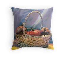 Tomatoes and Onions Throw Pillow