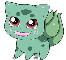 Chibi Bulbasaur by Raven-Sunshine