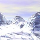 Magic Water Crystal Mountains by MaeBelle