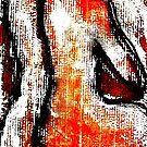 Red Nude - Bernard Lacoque by ArtLacoque