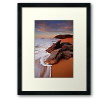 Sun Baking Framed Print