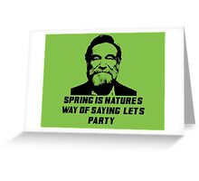 Robin williams /quote Greeting Card