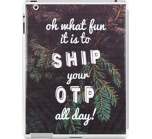 Oh What Fun it is To Ship iPad Case/Skin