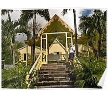 Batik Artists - Bob in St. Kitts Poster