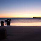 Dawn Pillars - Anglesea Victoria by Anthony Evans