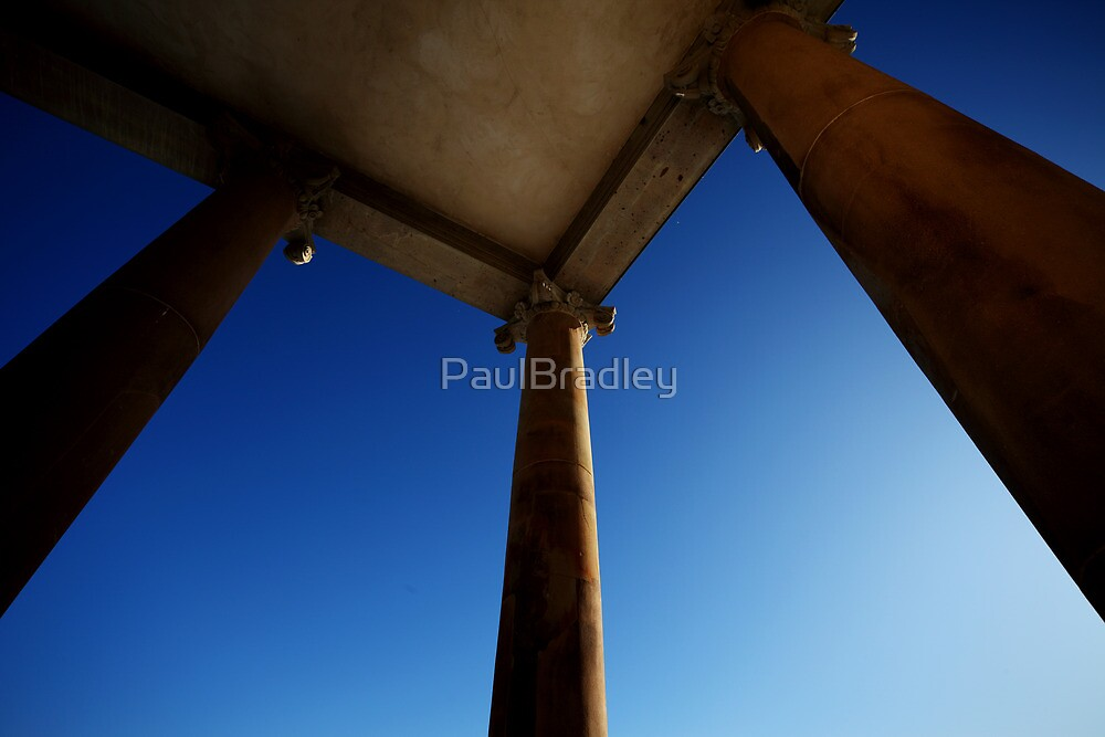 Temple (Abstract) by PaulBradley