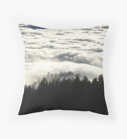 In the Midst of Giants -  Sequoia National Park, California Throw Pillow
