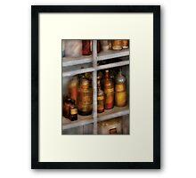 Chemist - Flavor Lab Framed Print