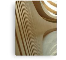 Anthropomorphic Curves - Zurich, Switzerland Canvas Print