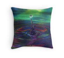 Droplet #6 Throw Pillow