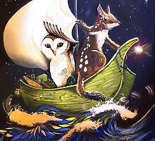 The Owl & the Quoll by TwoShoes