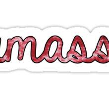 U Mass TieDye Sticker