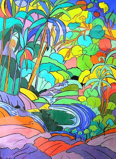 Currumbin Slide  by Virginia McGowan