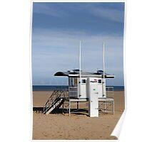 Lifeguard Station, Skegness Poster