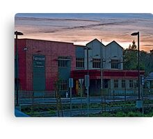 FAIRMONT ELEMENTARY SCHOOL Canvas Print