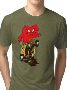 hot rod monster Tri-blend T-Shirt