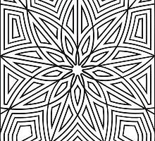 Geometric Pattern Design by m4deofst0ne