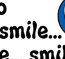 Smile Grateful Dead Quote Sticker