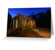 Lights are on but no one's home! Greeting Card