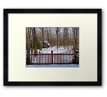 Gated Community Framed Print