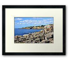 Cascais, Portugal... seascape Framed Print