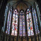 Church Window of Carcassonne by HELUA