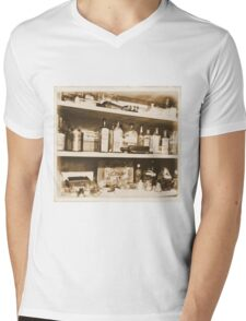 Antique Bottles Mens V-Neck T-Shirt
