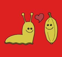Banana Love One Piece - Short Sleeve