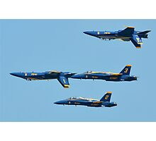 The Blue Angels Photographic Print