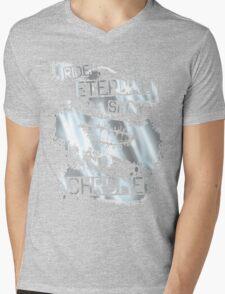 Ride Shiny Mens V-Neck T-Shirt
