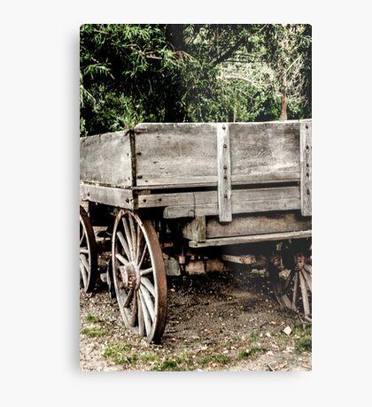 Wagon Metal Print
