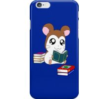Maxwell with Books iPhone Case/Skin